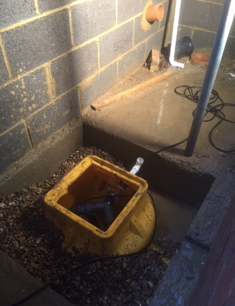 Flamstead damp proofing